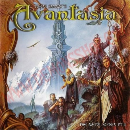 CD Avantasia - The Metal Opera 2