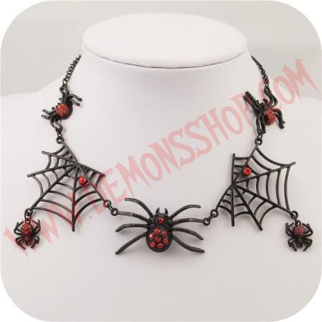 Colgante Red Spider