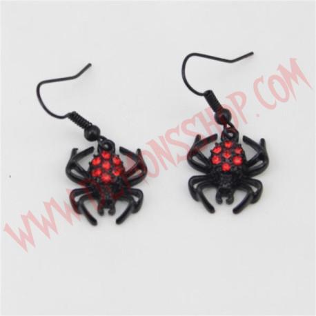 Pendientes Red Spider Peque