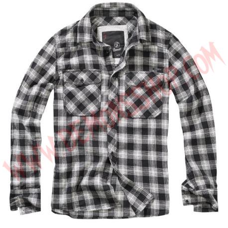 Camisa ML Great Creek Checkshirt Black