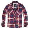 Camisa ML Checkshirt Slim Fit Red