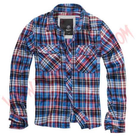 Camisa ML Checkshirt Flanell FIN Blue