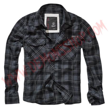 Camisa ML Checkshirt Flanell FIN Black