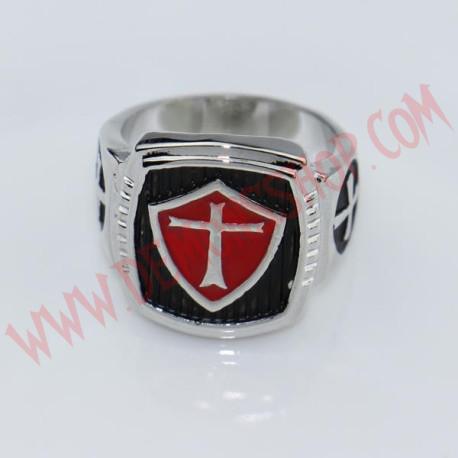 Anillo Cross Templar