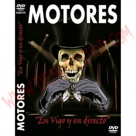 DVD Motores - En vigo y en directo