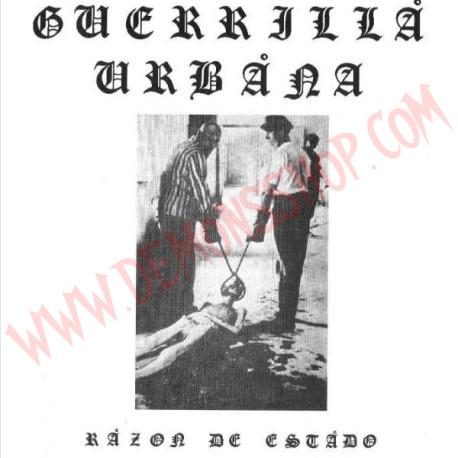 Vinilo LP Guerrilla Urbana – Razón De Estado