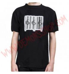 Camiseta MC 666 Barcode