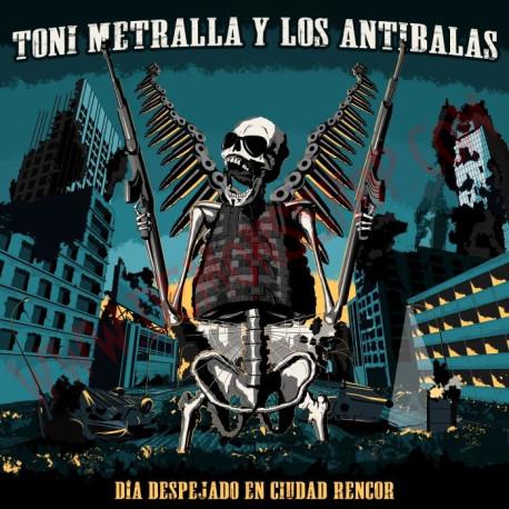 Vinilo LP Toni metralla y los antibalas - Día despejado en ciudad rencor