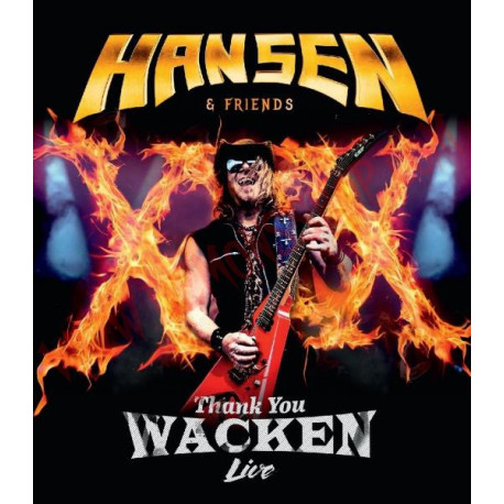 Blu-Ray Kai Hansen - Thank You Wacken Live