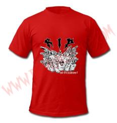 Camiseta Niño MC RIP (Roja)