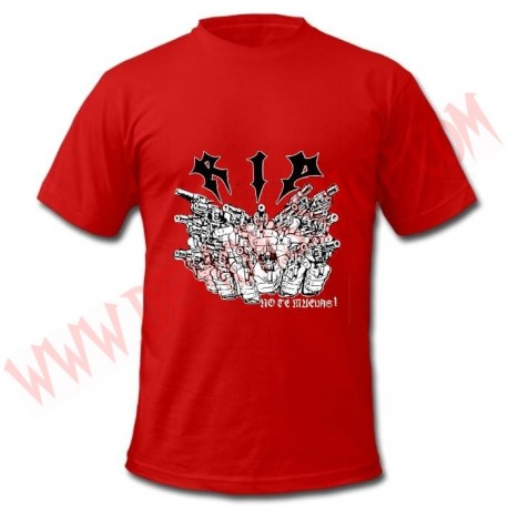 Camiseta MC RIP (Roja)
