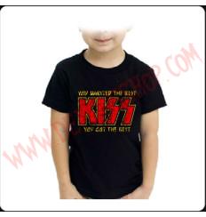 Camiseta Niño Kiss