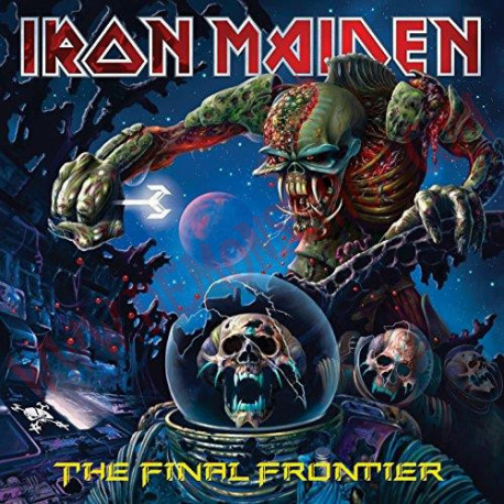 Vinilo LP Iron Maiden - The final frontier