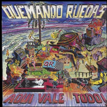 CD Quemando Ruedas - Aqui vale todo!