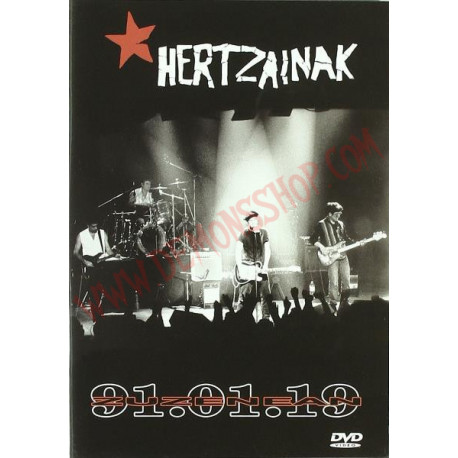 DVD Hertzainak - Zuzenean 19.01.91