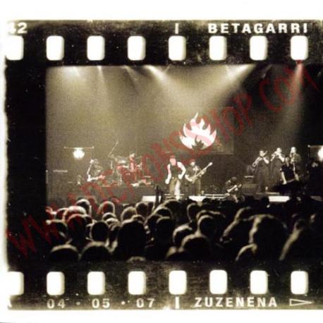 DVD Betagarri - Zuzenean