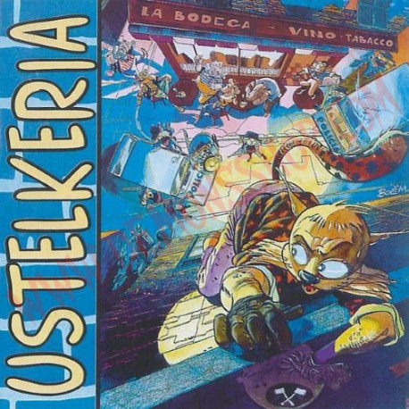 CD Negu Gorriak - Ustelkeria