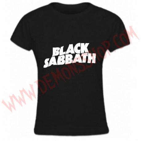 Camiseta Chica MC Black Sabbath