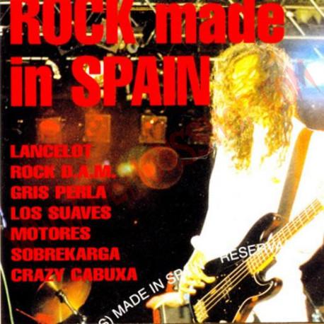 CD Rock Made in Spain