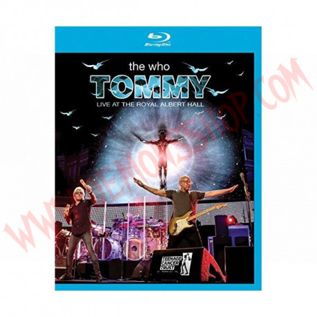 Blu-Ray The Who - Tommy Live At The Royal Albert Hall