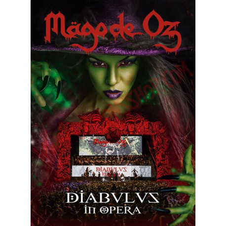 DVD Mago de Oz - Diabulus In Opera