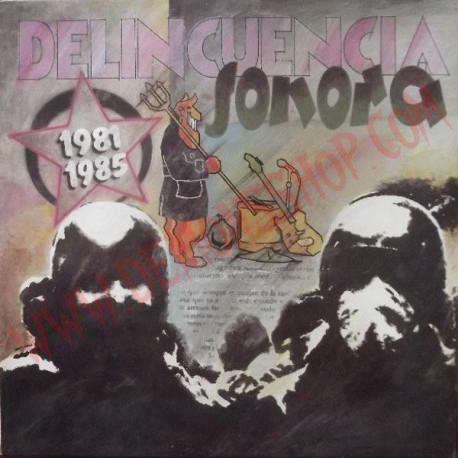 Vinilo LP Delincuencia Sonora – 1981 1985