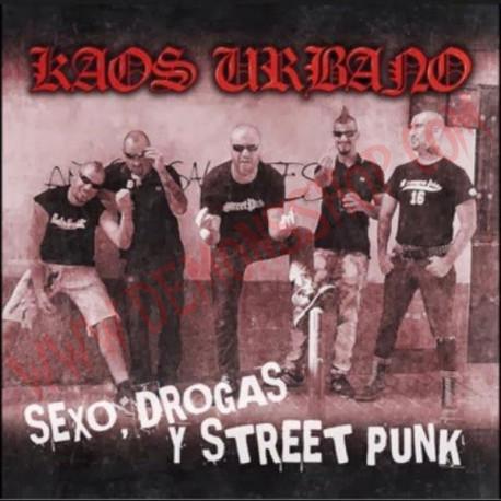 Vinilo LP Kaos Urbano – Sexo, Drogas Y Street Punk