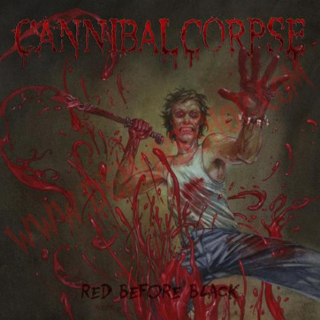 Vinilo LP Cannibal Corpse – Red Before Black