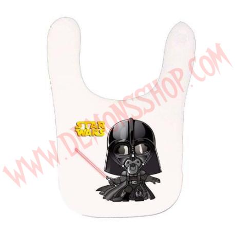 Babero Darth Vader (Blanco)