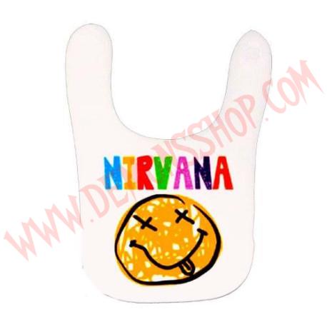 Babero Nirvana (Blanco)