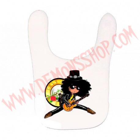 Babero Slash (Blanco)