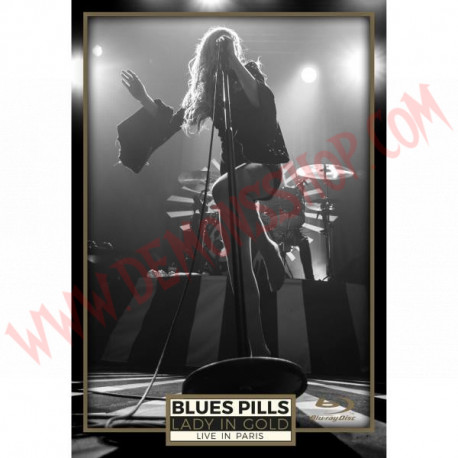 Blu-Ray Blues Pills - Lady in gold - Live in Paris