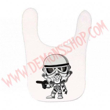 Babero Trooper (Blanco)