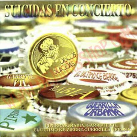 CD Suicidas en concierto