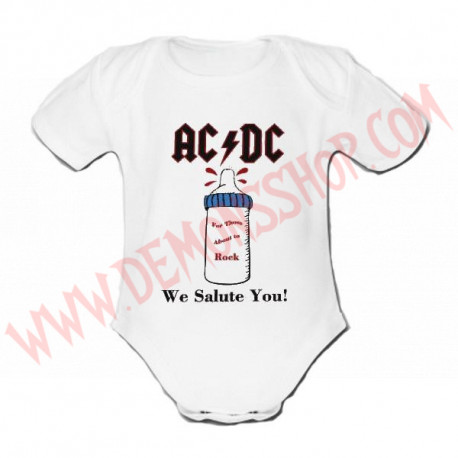 Body MC ACDC (Blanco)