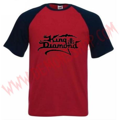 Camiseta MC King Diamond (Raglan Roja)