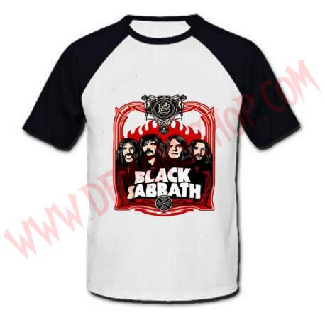 Camiseta Raglan MC Black Sabbath