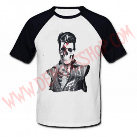 Camiseta Raglan MC David Bowie