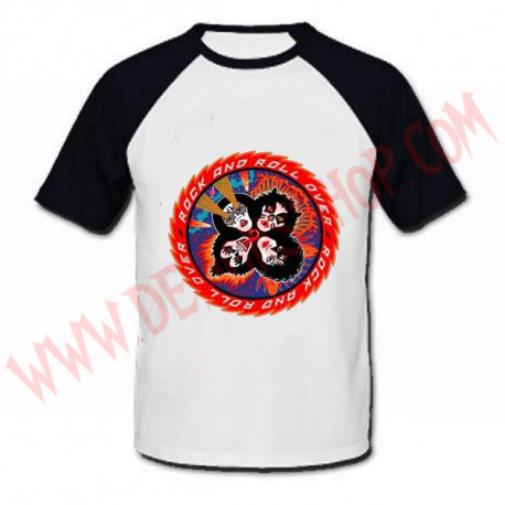 Camiseta Raglan MC Kiss