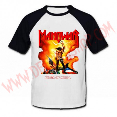 Camiseta Raglan MC Manowar