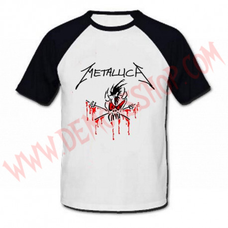 Camiseta Raglan MC Metallica