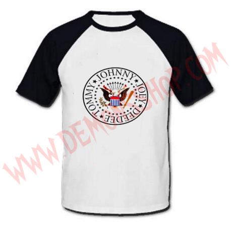 Camiseta Raglan MC Ramones