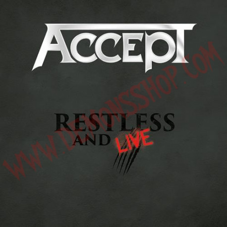 CD Accept - Restless and live