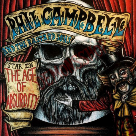 Vinilo LP Phil Campbell and the Bastards Sons - The age of absurdity