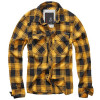 Camisa ML Check Fred Black Yellow