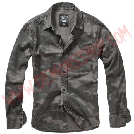 Camisa ML Josh Shirt camo Darkcamo