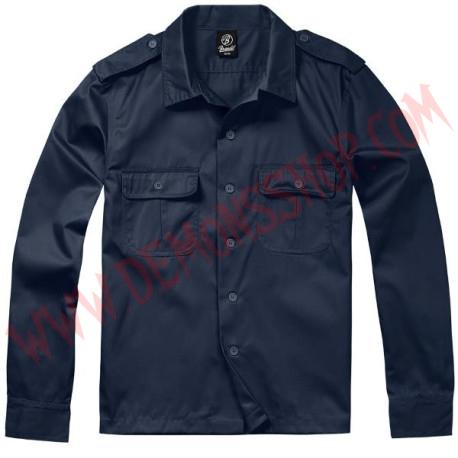 Camisa ML US Hemd 1/1 Arm Navy