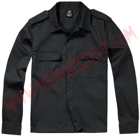 Camisa ML US Hemd 1/1 Arm Black