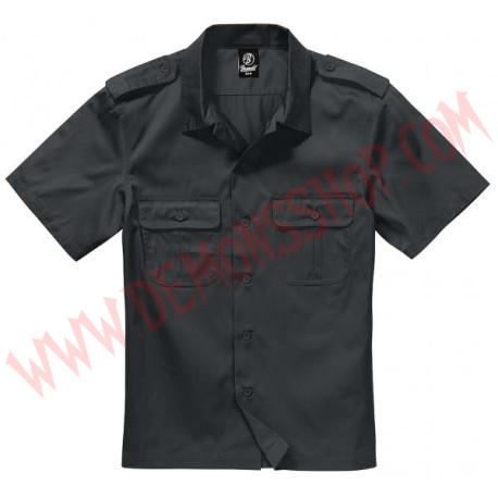 Camisa MC US Hemd 1/2 Arm Black