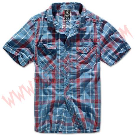 Camisa MC Roadstar 1/2 sleeve Red Blue